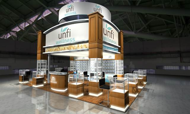 UNFI Wellness Booth